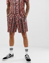 Asos Design DESIGN festival two-piece sequin shorts in geo-tribal design