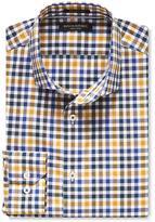 Banana Republic Camden-Fit Supima Cotton Tri-Tone Gingham Shirt