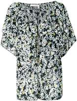 See by Chloe ruffled floral-print blouse