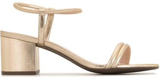 Schutz Block Heel Ring Sandals