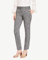 Ann Taylor The Tall Ankle Pant in Textured Stretch - Kate Fit