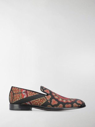 Dolce & Gabbana Printed Slippers