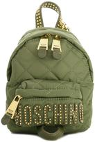 Moschino quilted backpack - women - Polyester - One Size
