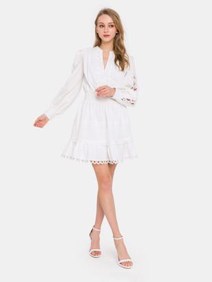Endless Rose Lace Trim Detail Dress