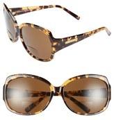 Corinne McCormack Women's 'Elizabeth' 61Mm Reading Sunglasses - Tortoise