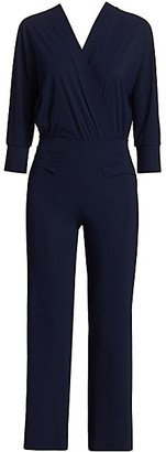 Chiara Boni Tawanna Long-Sleeve Jumpsuit