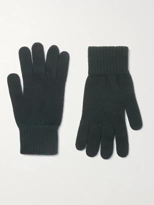 William Lockie - Cashmere Gloves - Men - Green