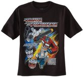 Transformers Boys 2-7 Crew Tee