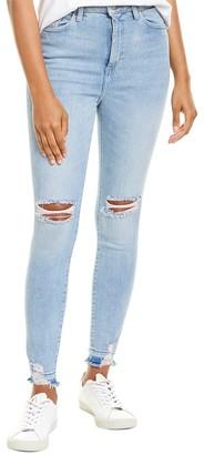DL1961 Premium Denim Chrissy Lagunita Ultra High-Rise Skinny Leg Jean