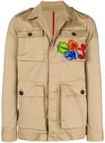 DSQUARED2 embellished utility jacket