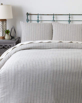 Splendid 3-Piece Navy & Ivory Laguna Stripe Comforter Set