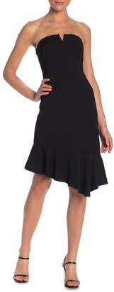 Do & Be Strapless Midi Dress