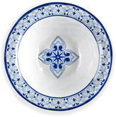 Q Squared Melamine Talavera Serving Bowl