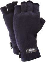 FLOSO Mens Thinsulate Thermal Fingerless Gloves (3M 40g) ( Fits All)