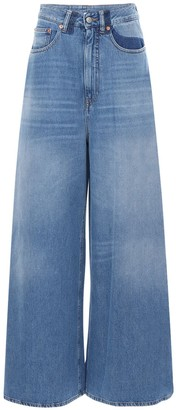 MM6 MAISON MARGIELA Flared Cotton Denim Jeans