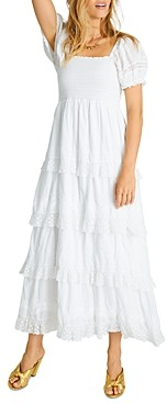 LoveShackFancy Capella Midi Dress