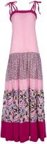 Vintage Floral panel maxi dress