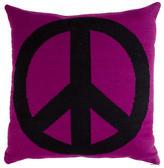 Jonathan Adler Reversible Peace Throw Pillow