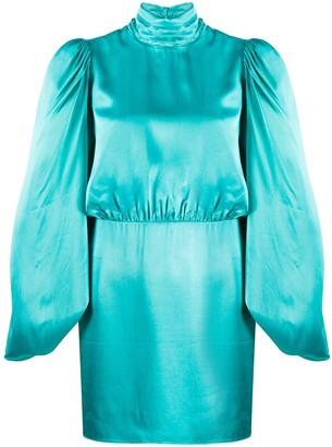 ATTICO Gobi mini dress