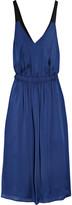 Theyskens' Theory Dewi open-back silk dress