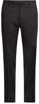 Incotex Slim-leg Herringbone Cotton-blend Trousers