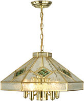 Dale Tiffany Dale TiffanyTM Clear Fused Hanging Fixture