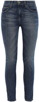 Thumbnail for your product : Current/Elliott Cropped High-rise Skinny Jeans
