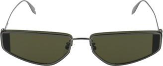 Alexander McQueen Eyewear Geometric Frame Sunglasses