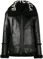 Balenciaga Le Bombardier leather jacket
