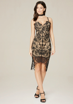 Bebe Bobbie Lace Bustier Dress