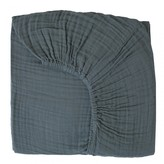 Numero 74 Fitted Sheet - grey blue