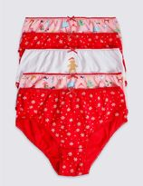 Marks and Spencer 5 Pack Pure Cotton Briefs (1-12 Years)
