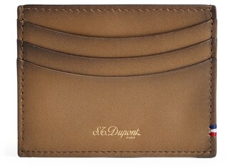 S.t. Dupont Leather Line D Card Holder