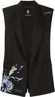 Marcelo Burlon County of Milan Flower Shipping sleeveless blazer