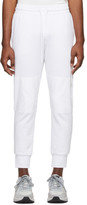 Diesel White P-Ortex Lounge Pants
