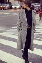 Free People Menswear Plaid Coat