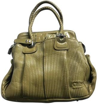 Chloé Heloise Green Patent leather Handbags