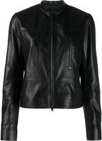 Valentino zipped leather jacket
