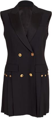 Versace Pleated Vest Dress