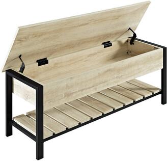 Hewson 48In Open-Top Famrhose Storage Bench