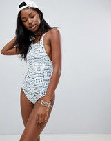 RVCA Tie Dye Tile Swimsuit
