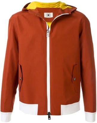 Kired Contrast-Trimmed Hooded Jacket