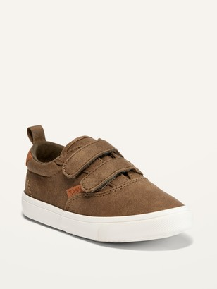 Old Navy Faux-Suede Double-Strap Sneakers for Toddler Boys
