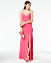 B. Darlin Juniors' Slip Gown, A Macy's Exclusive Style