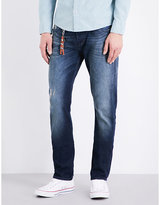 7 For All Mankind Marina Slim-fit Straight Jeans