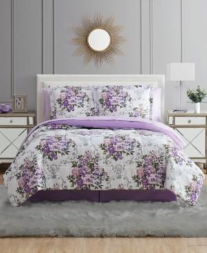 Pem America Floral Bouquet Queen 8PC Comforter Set Bedding
