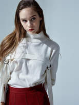 Wool D Ring Knit Pullover Ivory