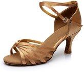 Generic Best Selling Ladies Girl's Sandals High Heel Satin/Leatherette Buckle Latin/Ballroom/Salsa Dance Shoes