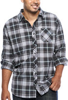 Zoo York Long-Sleeve Woven Plaid Shirt - Big & Tall