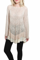 Umgee USA Textured Detail Sweater